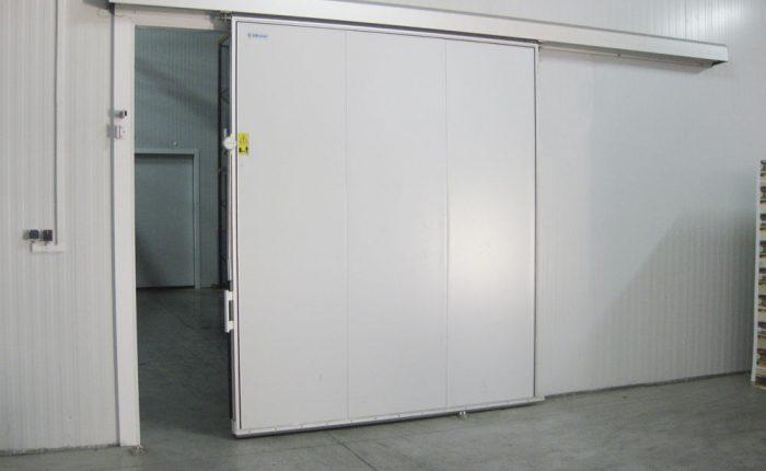 Puerta frigorifica corrediza